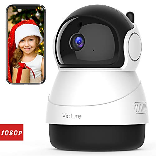 - Victure 1080P FHD WiFi IP Camera Indoor Wireless Security Camera with Motion Detection Night Vision Home Surveillance Monitor with 2-Way Audio for Baby/Pet/Elder with iOS/Android