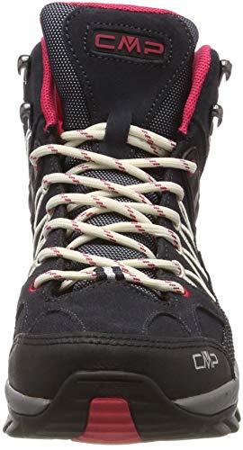 CMP Damen Rigel Mid Wmn Shoe Wp Trekking-& Wanderstiefel, Grau (Antracite-Off White 76uc), 38 EU 2