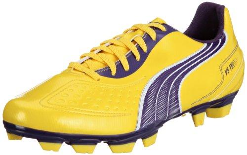 Puma V5.11 I Fg - Zapatillas de fútbol Amarillo (Gelb (Vibrant Yellow-Parachute Purple 04))