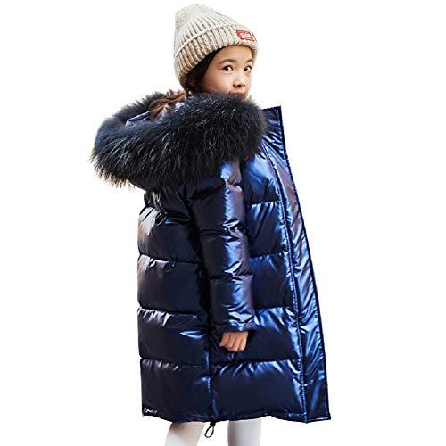 Jongens winterjas donsjack lang dik jack met capuchon bont kinderen jongens mode warm skipak 5-13 jaar