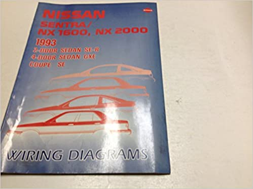 1993 nissan sentra nx 1600 2000 electrical wiring digram troubleshooting  manual: nissan: amazon com: books