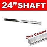Helix 268683 Steering Rod Shaft (HEXSRS12G 3/4 DD x 24 Inches Zinc Coated)