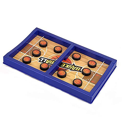 Fast Sling Puck Game PVC Slingshot Board Games Toy PVC Football Board Games Toys for Kids & Adults,2 Player Board Games
