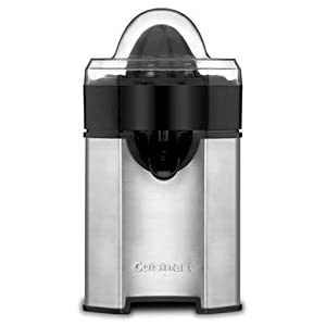 Cuisinart CCJ-500 Pulp Control Citrus Juicer, Brushed Stainless