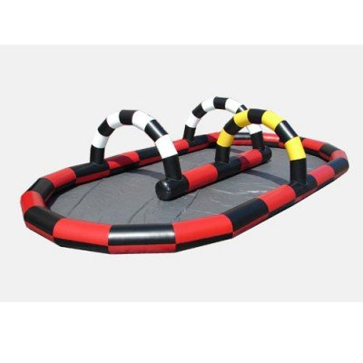 Kidwise Inflatable Race Track Interactive Inflatable
