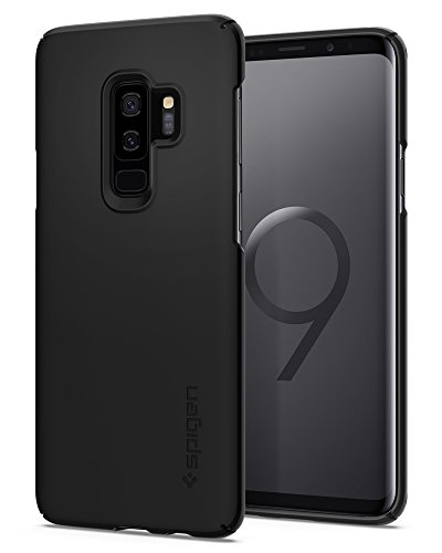 Spigen Thin Fit Galaxy S9 Plus Case with SF Coated...