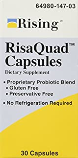 RISING PHARMACEUTICALS Risaquad Capsules, 30 Count (B0015PWPXY) | Amazon price tracker / tracking, Amazon price history charts, Amazon price watches, Amazon price drop alerts