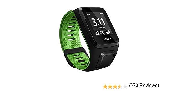 TomTom Runner 3, Reloj, Negro/Verde, S (Pequeña): Amazon.es ...