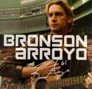 Bronson Arroyo Autographed CD - MLB Autographed Miscellaneous Items
