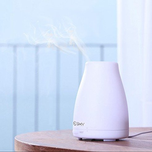 63 opinioni per Esky Diffusore di Oli Essenziali Umidificatore Aromaterapia Aroma Cool Mist,