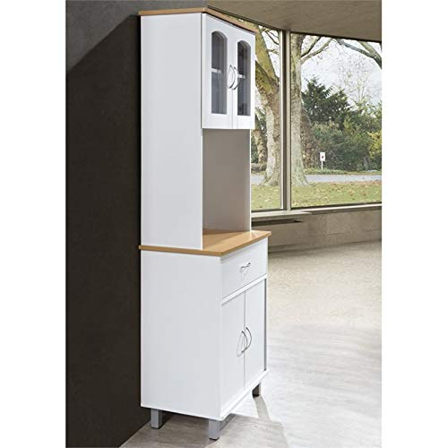 Pemberly Row Kitchen Cabinet in White by Pemberly Row (Image #3)