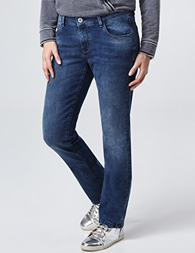Jean Droite 3d Femme With PioneerSally Buffies 447 Bleublue Coupe Dark Used D2H9IE