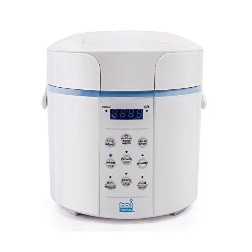 Aroma Rice Cookers Housewares MPC-912BL Aroma MI Pressure Ri