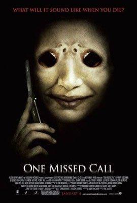 - ONE MISSED CALL ORIGINAL MOVIE POSTER