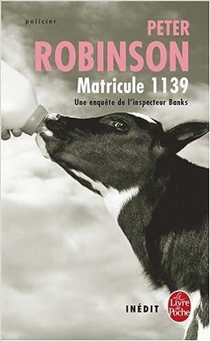 Matricule 1139 Le Livre De Poche French Edition