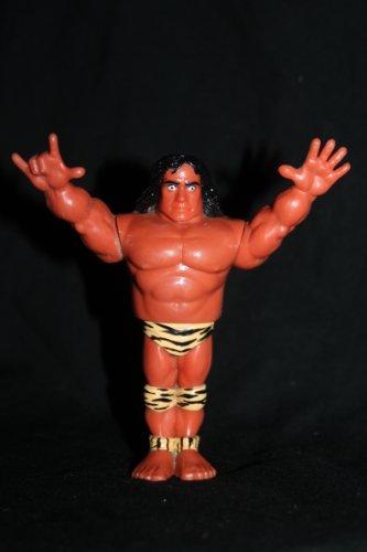 Wwf Hasbro  Jimmy Superfly Snuka  1991 Loose Action Figure W Superfly Slam