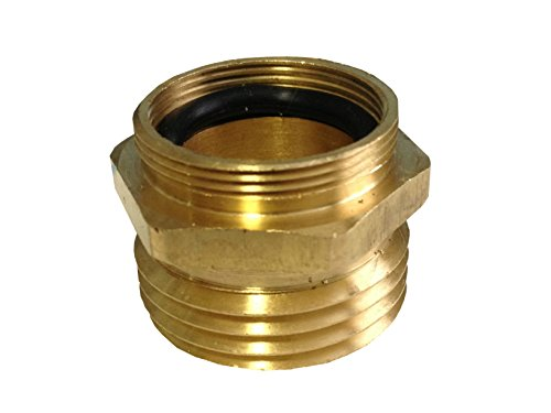kitchen sink to garden hose adapter coldbreak brewing equipment sink34mht kitchen sink adapter 9578