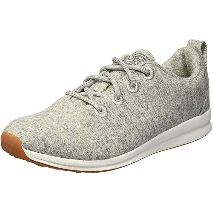 Skechers Women's Bobs Phresh-Lil Flash. Boiled Wool Oxford W Memory Foam Sneaker