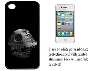 iPhone 4 4S Printed Hard Case With Aluminium Insert Star Wars The Death Star