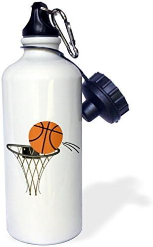 Zhaoshoping Cartoon Cesta de Baloncesto Deportes Botella de Agua ...