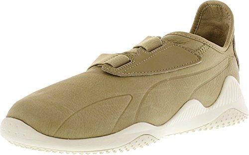 Puma Hombres Mostro Premium Tobillo-high Fashion Sneaker Safari / Whisper Blanco