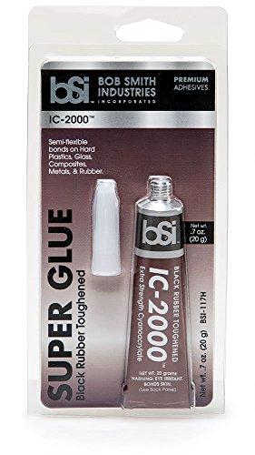 Bob Smith Industries Bsi 117H Black Ic 2000 Rubber Toughened Super Glue