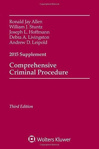 Comprehensive Criminal Procedure: 2015 Case Supplement