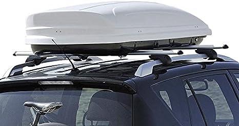 Dachbox 460 Liter Auto Dachkoffer Abschließbar Vdp Maa460 Weiss Auto