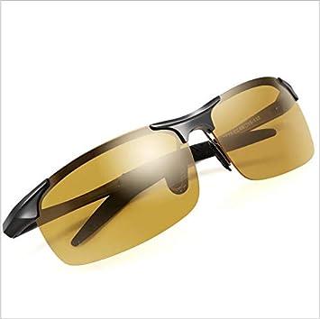 Inteligente Cambio de Color Visión Nocturna Conductor polarizado Espejo de conducción Día y Noche Gafas de