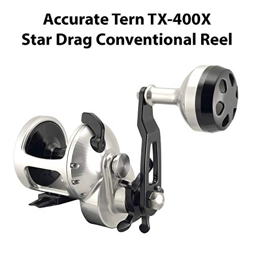 Aluminum Stack Twin (Accurate Tern Twin Star Drag Reel)