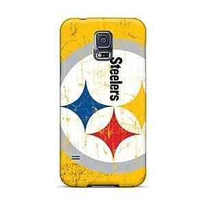 Samsung Galaxy S5 UAt1687gUNM Unique Design Fashion Pittsburgh Steelers Pattern Best Hard Phone Case -JamieBratt