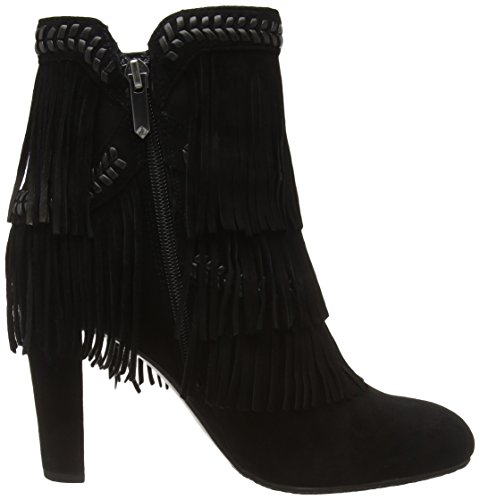 Women's mujer Negro Sam Ankle Botas Edelman Cambell para Rcq5YB5w