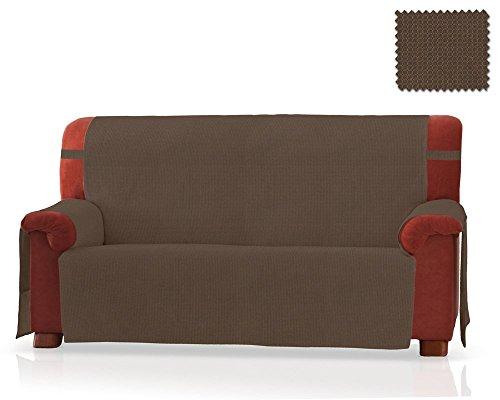 Sofaschoner Gea Grösse 2 Sitzer(130 Cm.),Farbe Tabak