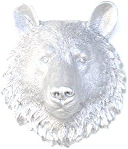 Near and Deer Faux Taxidermy Bear Head Wall Mount