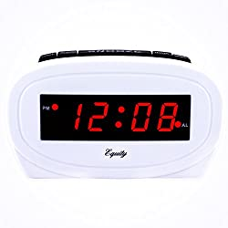 Equity by La Crosse 30227 LED Alarm Clock