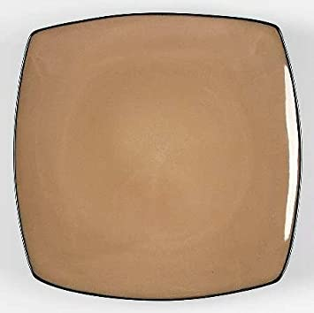 Gibson Designs Soho Lounge-Taupe Dinner Plate Fine China Dinnerware : gibson china dinnerware - Pezcame.Com