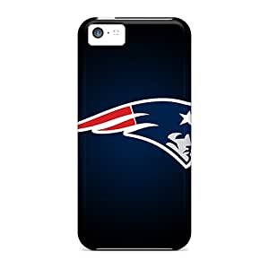 Iphone 5c Xtc17478iLMx Allow Personal Design Vivid New England Patriots Pictures Shockproof Hard Cell-phone Case -ChristopherWalsh