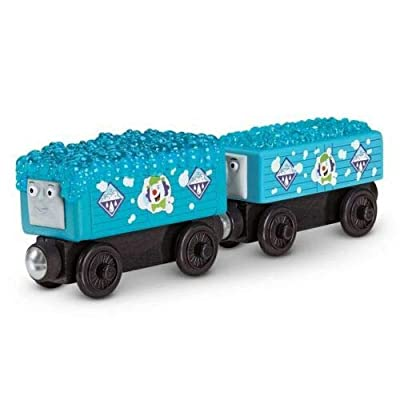 Thomas Wooden Bubble Troublesome Trucks Railway Train Rare Offering: Toys & Games