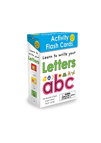 Wipe Clean Flash Cards ABC (Wipe Clean Activity Flash Cards)26 -