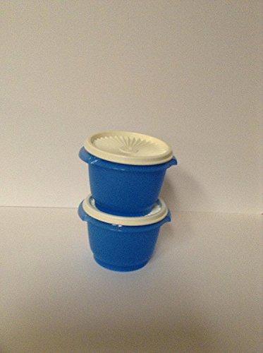 Tupperware Servalier Bowl Set Blue