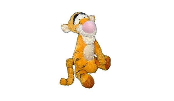 Doudou peluche Tigger naranja largos cerdas Disneyland Resort Paris H 40 cm sentado CH0505: Amazon.es: Bebé