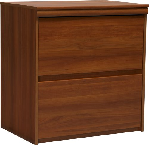 Altra Presley Lateral File Cabinet, Expert Plum