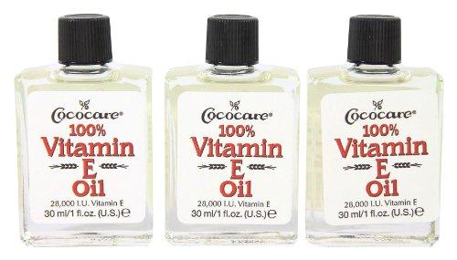 Price comparison product image CocoCare 100% Vitamin E Oil - 1 oz - Pack of 3