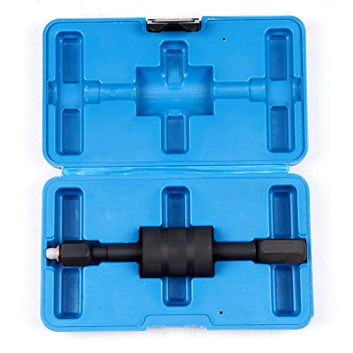 cciyu Diesel Injector Extractor Common Rail Puller Tool Engine Timing Tools Kit Applicable for Stubborn Diesel - Diesel Engines Rail Common