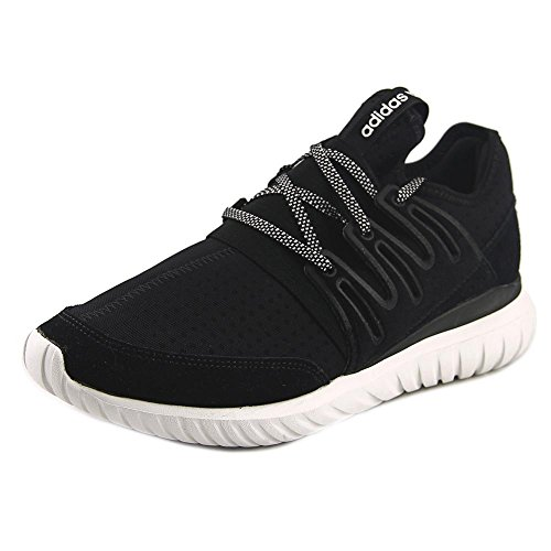 Adidas Mens Tubular Radial Running Shoes Core Black   Vintage White 13 D M  Us