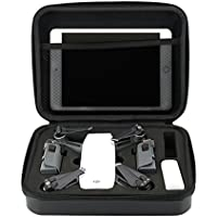 Global-store DJI Spark Drone Case Waterproof, Hardshell Carry Bag for Spark Accessories with Portable Belt