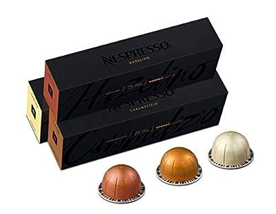 Nespresso Capsules VertuoLine, Flavored Variety Pack, Medium Roast Coffee, 30 Count Coffee Pods, Brews 7.8 oz from Nespresso Pods