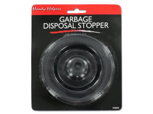 Bulk Buys HS009-72 14''L x 14''W x 14''H Black Garbage Disposal Stopper - Pack of 72 by Handy Helpers