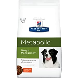 Hill's Pet Nutrition Prescription Diet Metabolic Canine Dry Dog Food, 5.5 kg