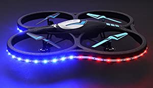 Hero RC V626 UFO Drone with Camera and LED 4 Channel 6 Axis Gyro Quadcopter 2.4ghz Ready to Fly